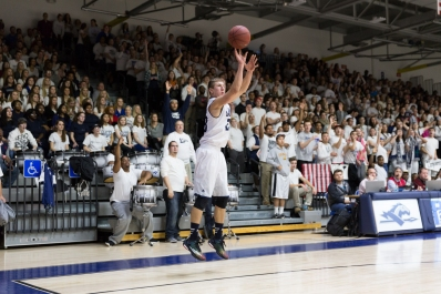 Longwood will need to get going from downtown again to take down High Point tonight. (Photo: Matthew Alexander)